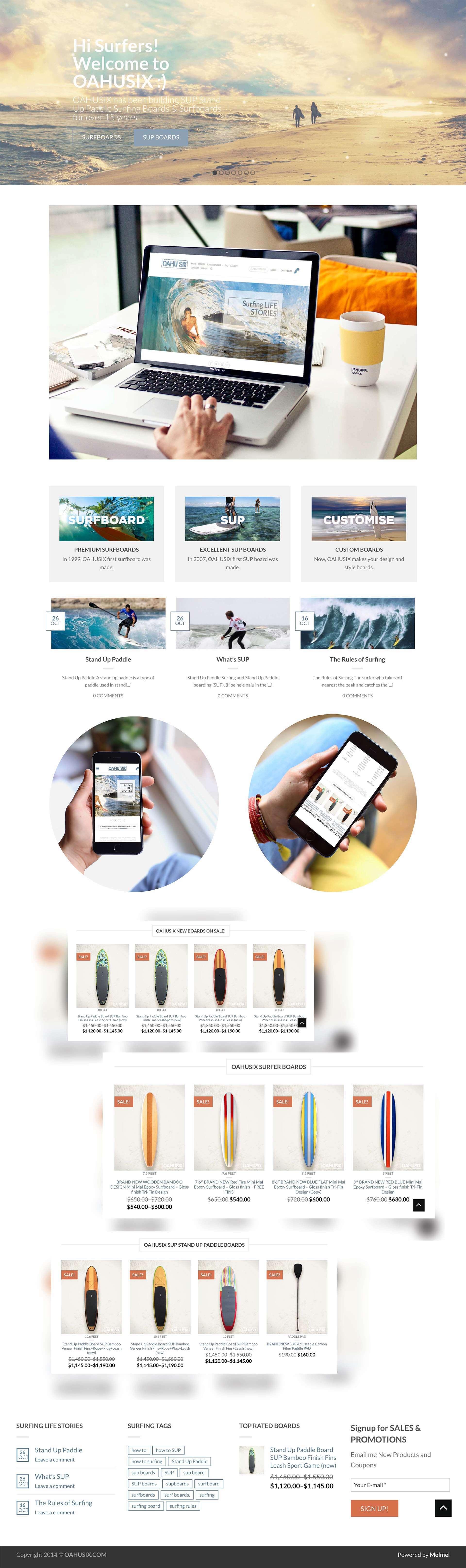 oahusix-website